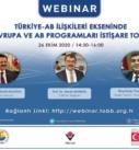 Türkiye-AB İlişkileri Ekseninde Ufuk Avrupa ve AB Programları İstişare Toplantısı
